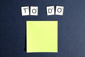 illustratie 'to do'